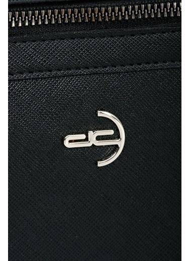 Deri Company Clutch / El Çantası Siyah
